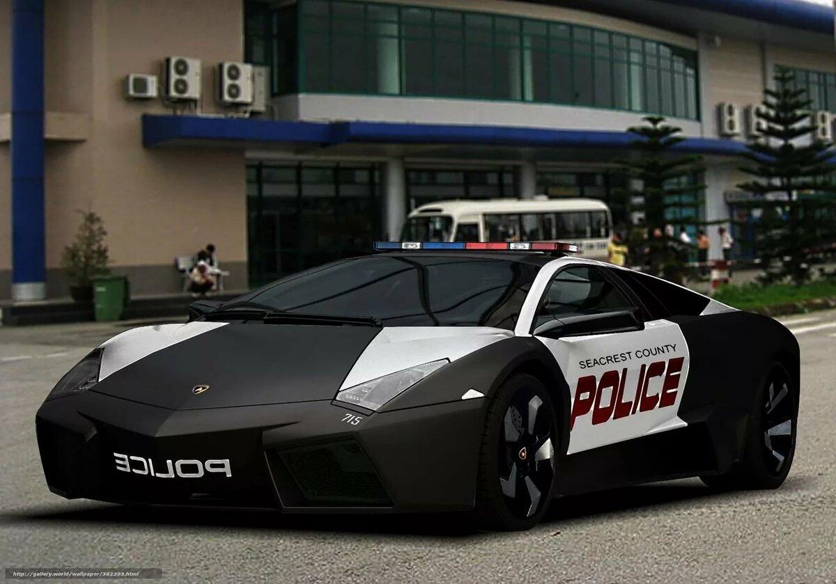 Крутые картинки с полицейскими машинами