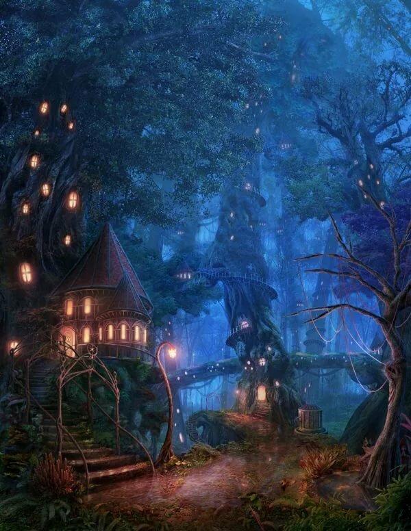 Волшебный мир загадочный картинки