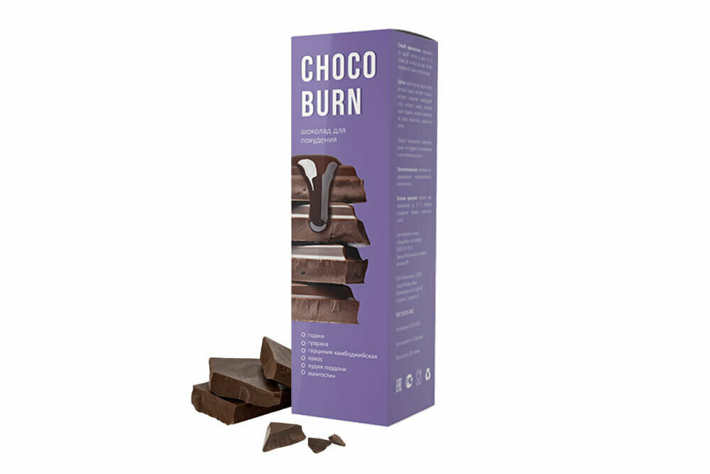 ChocoBurn - шоколад для похудения в Салавате