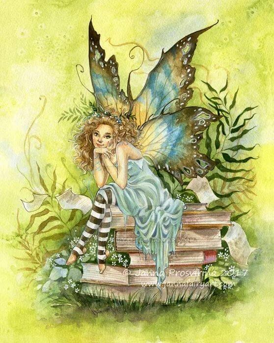 местный умные картинки с феями и эльфами два года номи