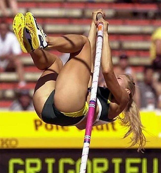 Sexiest pole vaulter