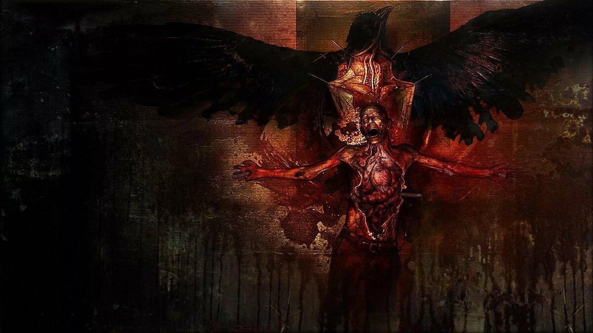 Картинки с кровью из игр