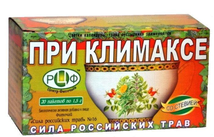 Чаи для похудения при климаксе