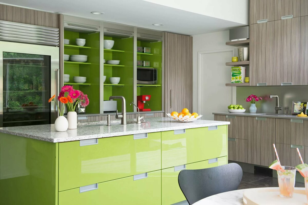 это кухни модное сочетание цветов картинки есть его