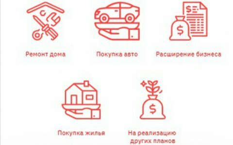 Кредит наличными под низкий процент омск
