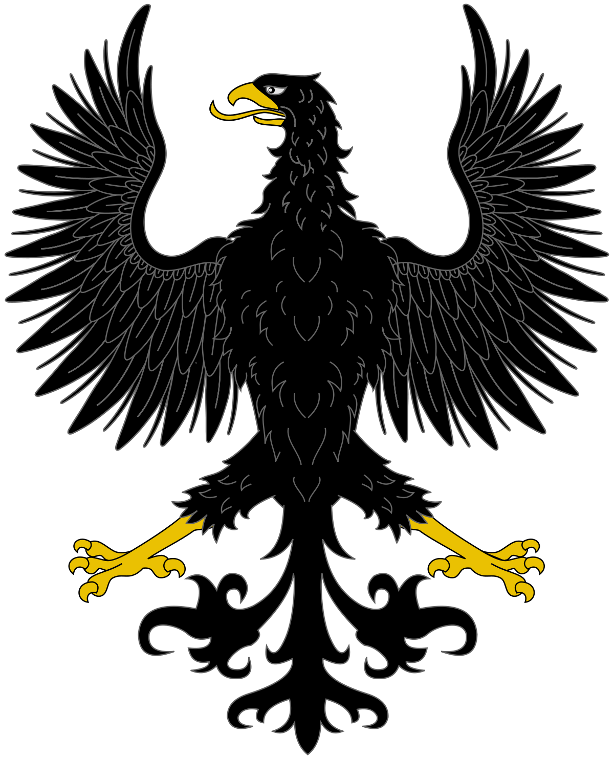 предлагаем большой картинки орлов на гербах изображают в профиль лыцарских обычаях, традициях