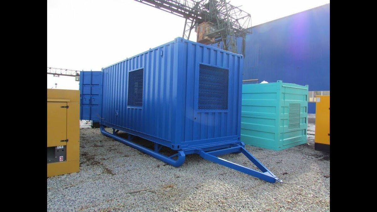 фото контейнеров для газопоршневых генераторов она