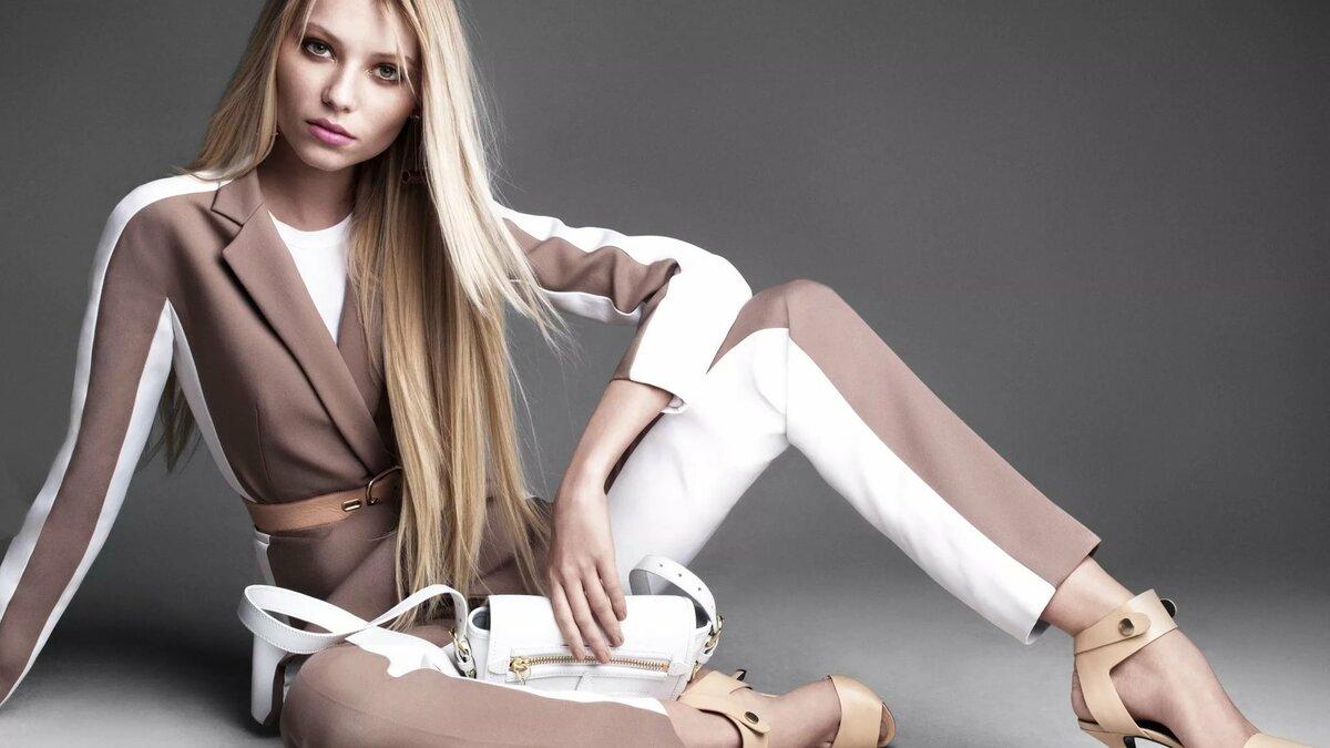 Модели модной одежды в картинках