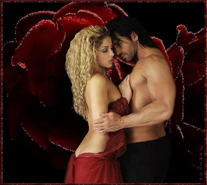 Любовь и страсть в открытках