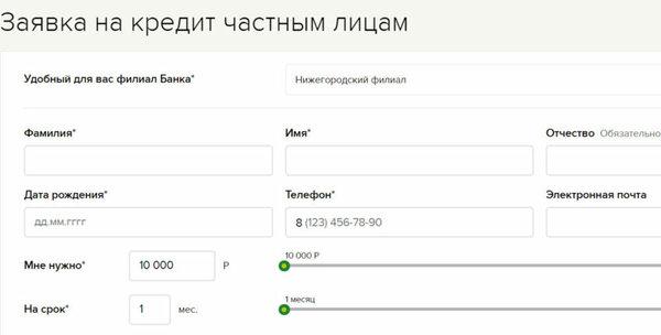 Кредит наличными в нижнекамске без справок и поручителей онлайн заявка