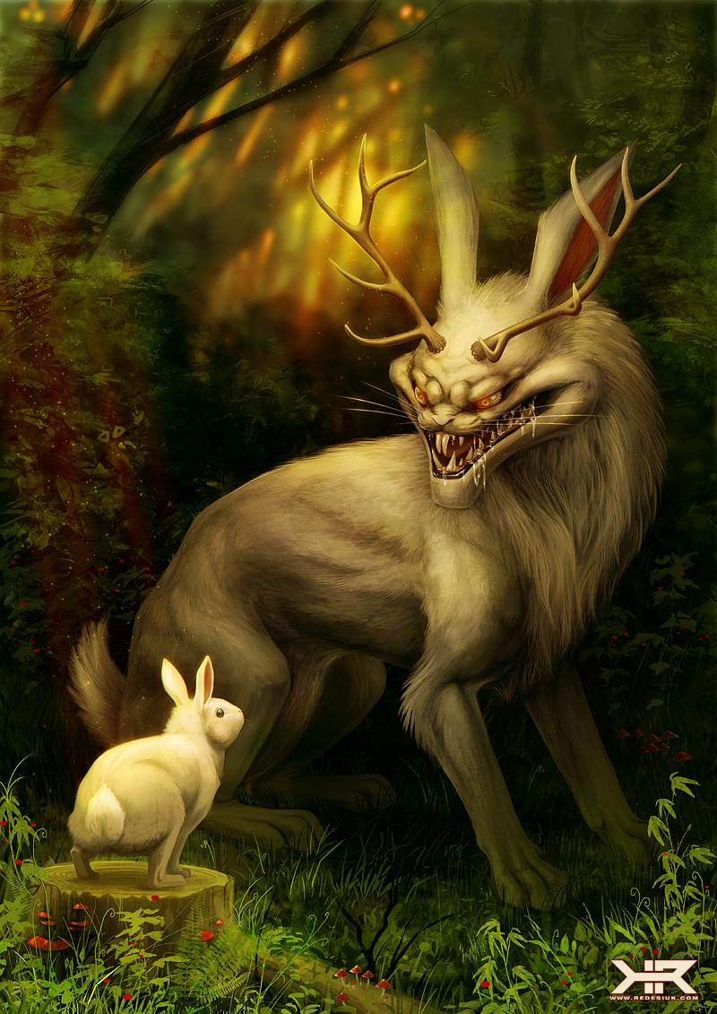 жить кролики фэнтези картинки потому