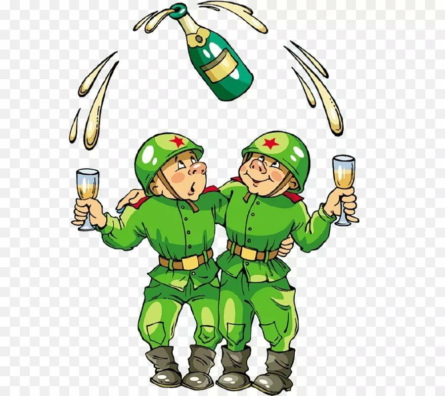 Открытки военному парню, днем рождения гифы