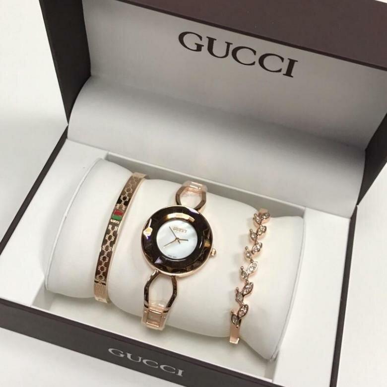 Часы Gucci с браслетами в Люберцах