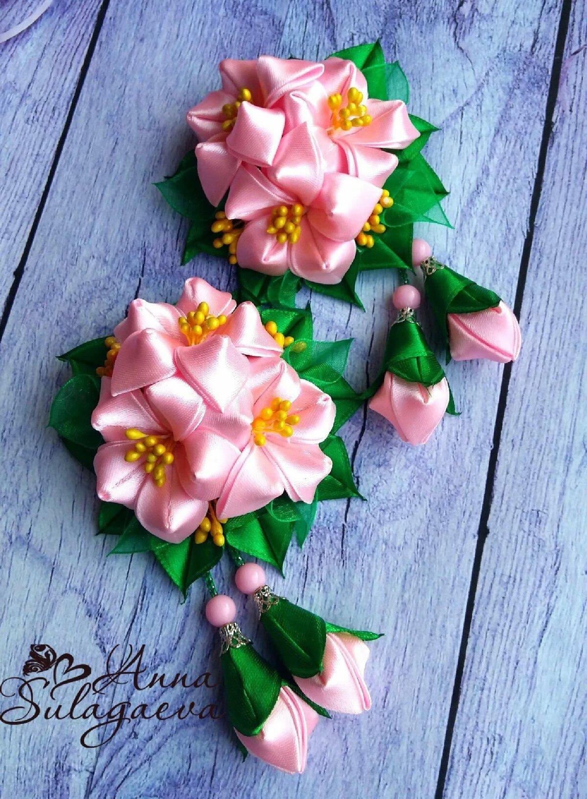 сообщалось, что канзаши весенние цветы фото заказывала