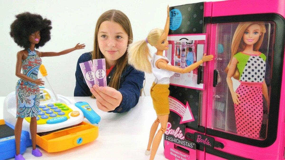 Куклы барби видео распаковка #12