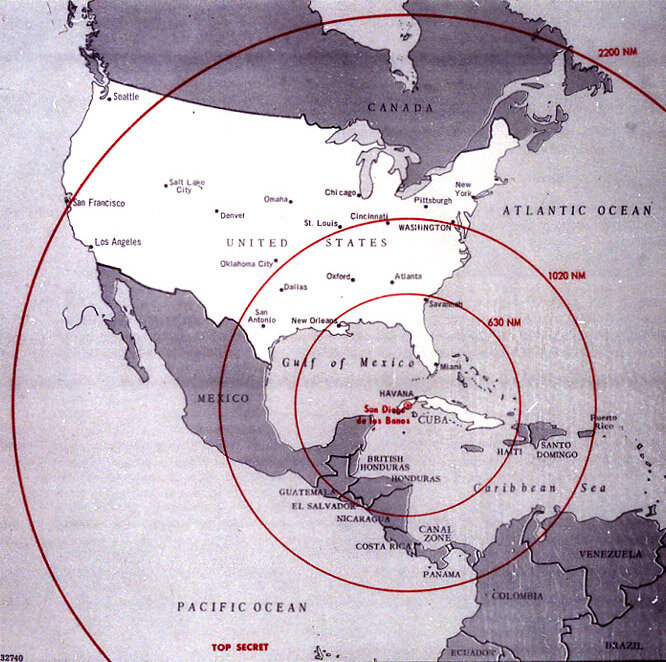 22 октября 1962 года начался Карибский кризис – противостояние между СССР и США