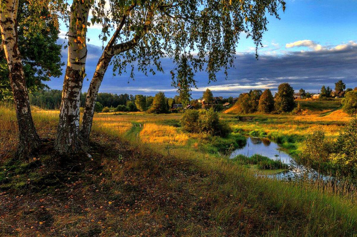 Пейзажи природы россии