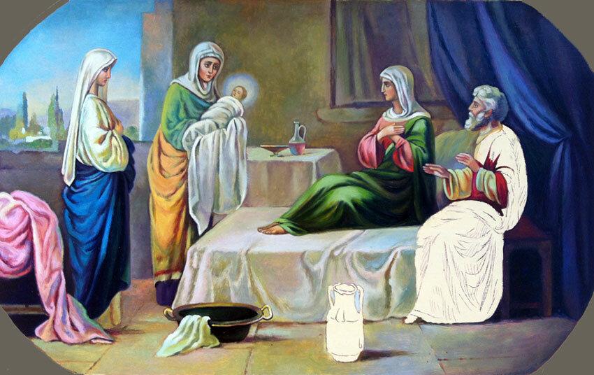Для, с рождеством крестителя иоанна открытка
