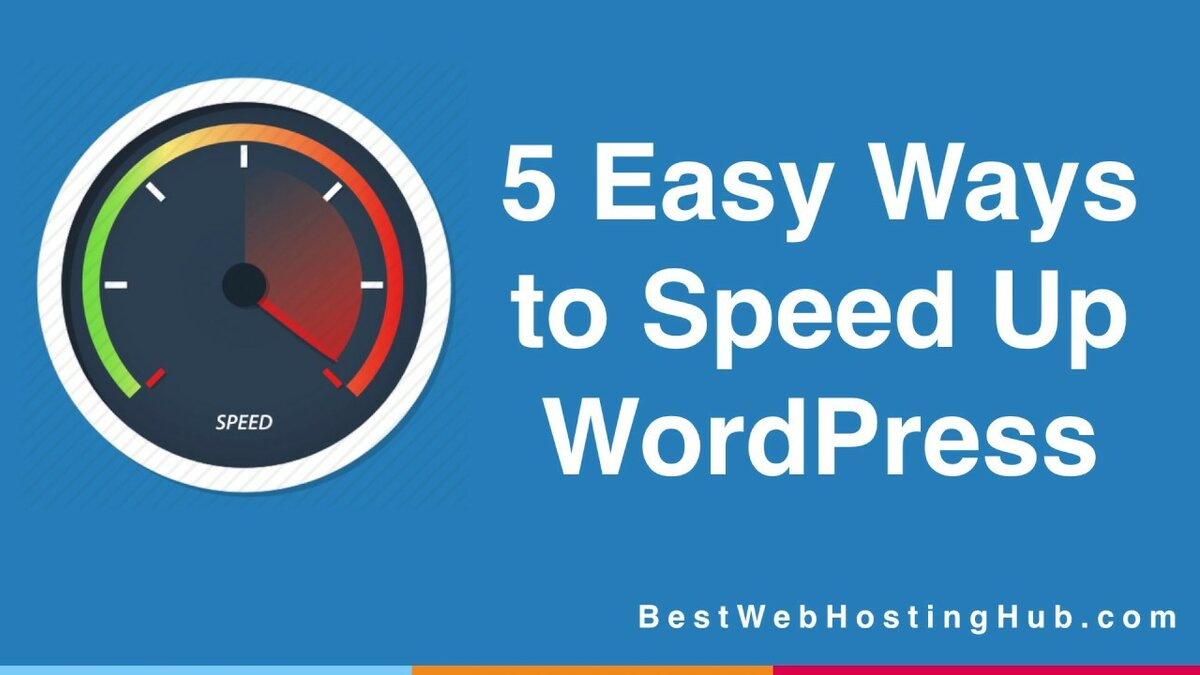 """""""Here are 5 Easy Ways to Speed Up WordPress with and without"""