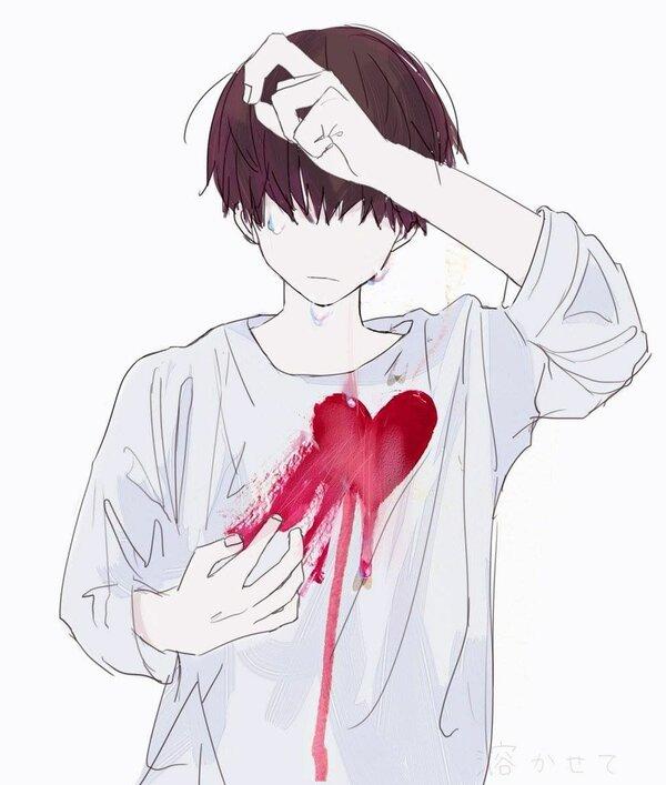 Картинки с разбитым сердцем девушки на аву