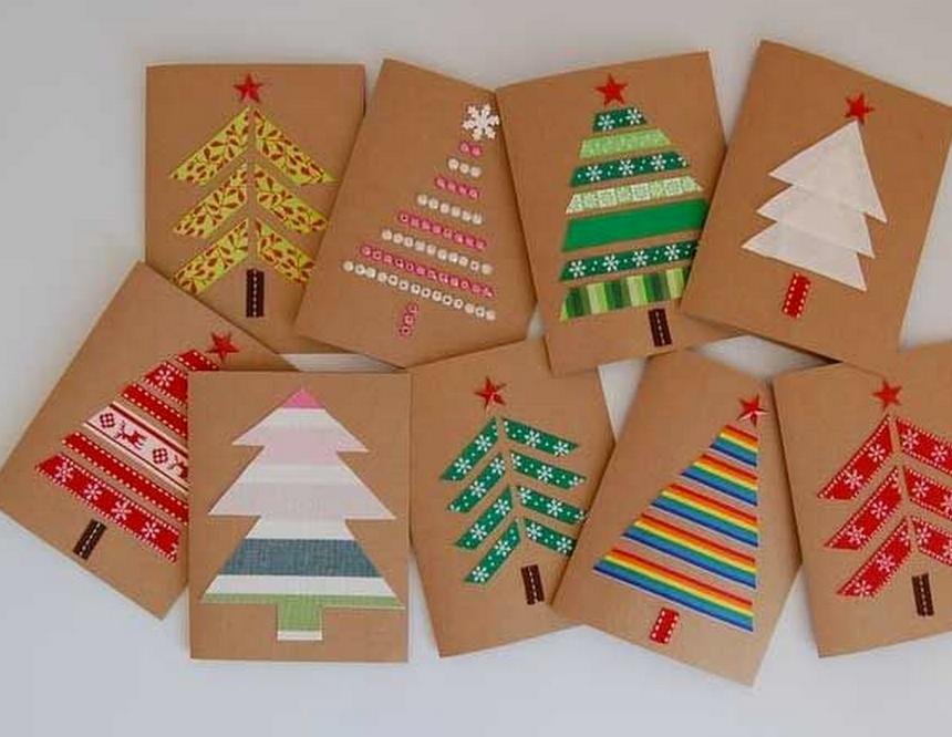 Словом пупсики, как сделать открытку из цветной бумаги новогоднюю игрушку