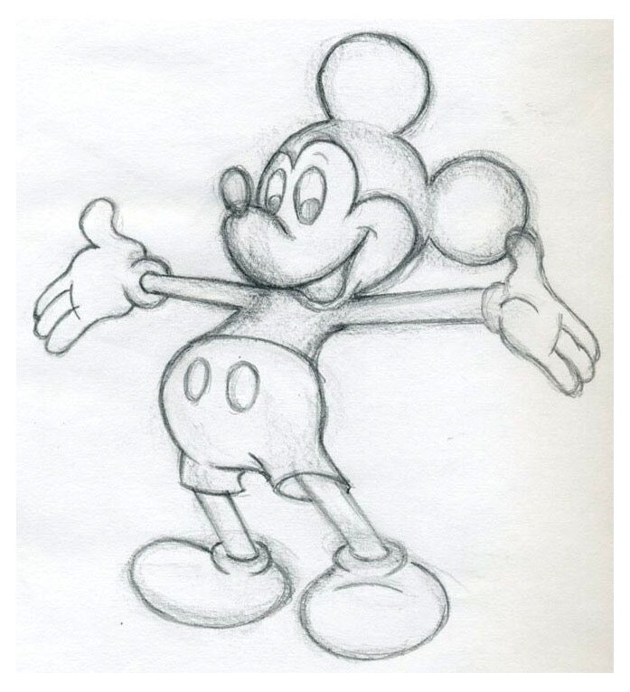 Картинки на любые темы не сложные для срисовки простым карандашом
