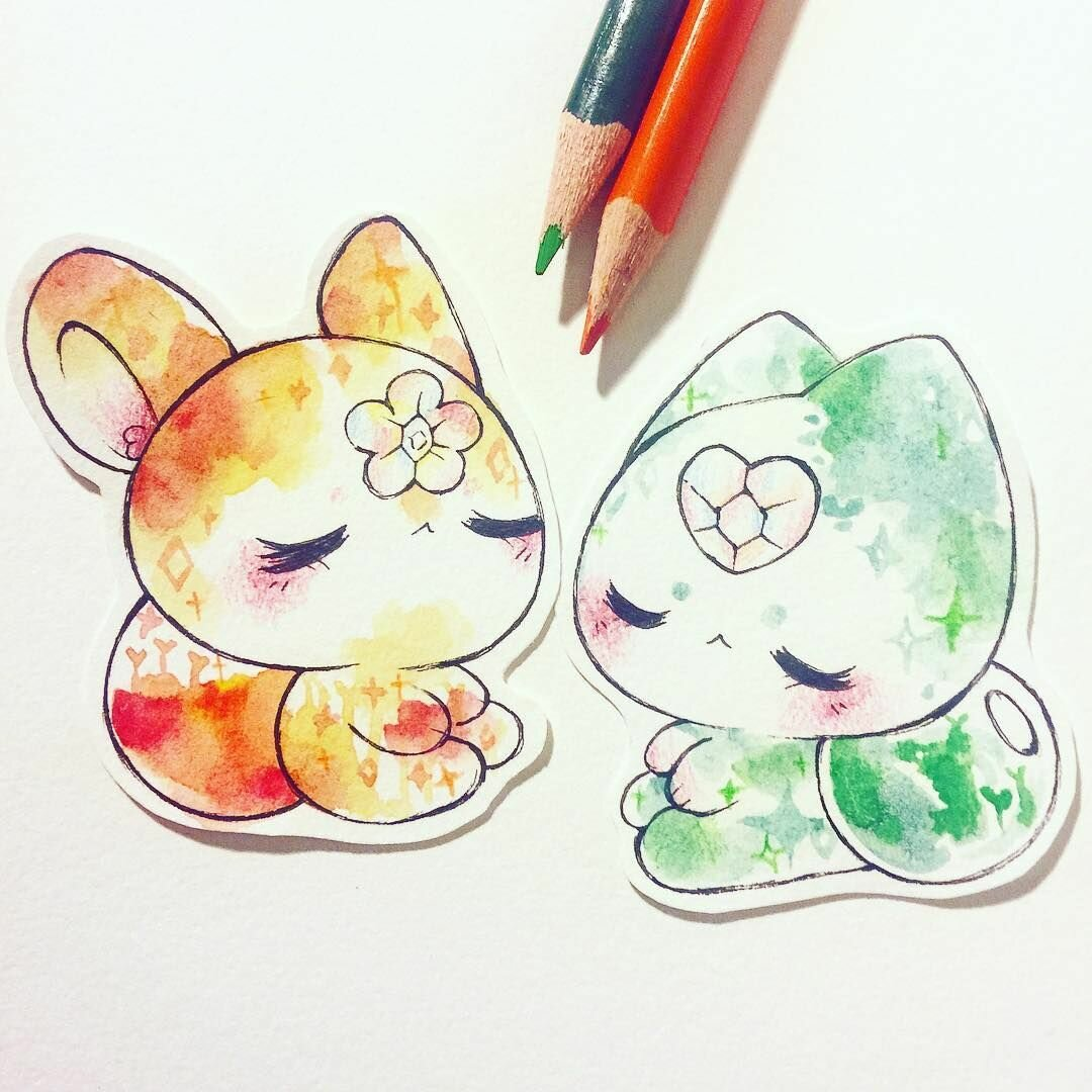 Красивые маленькие картинки рисовать легкие