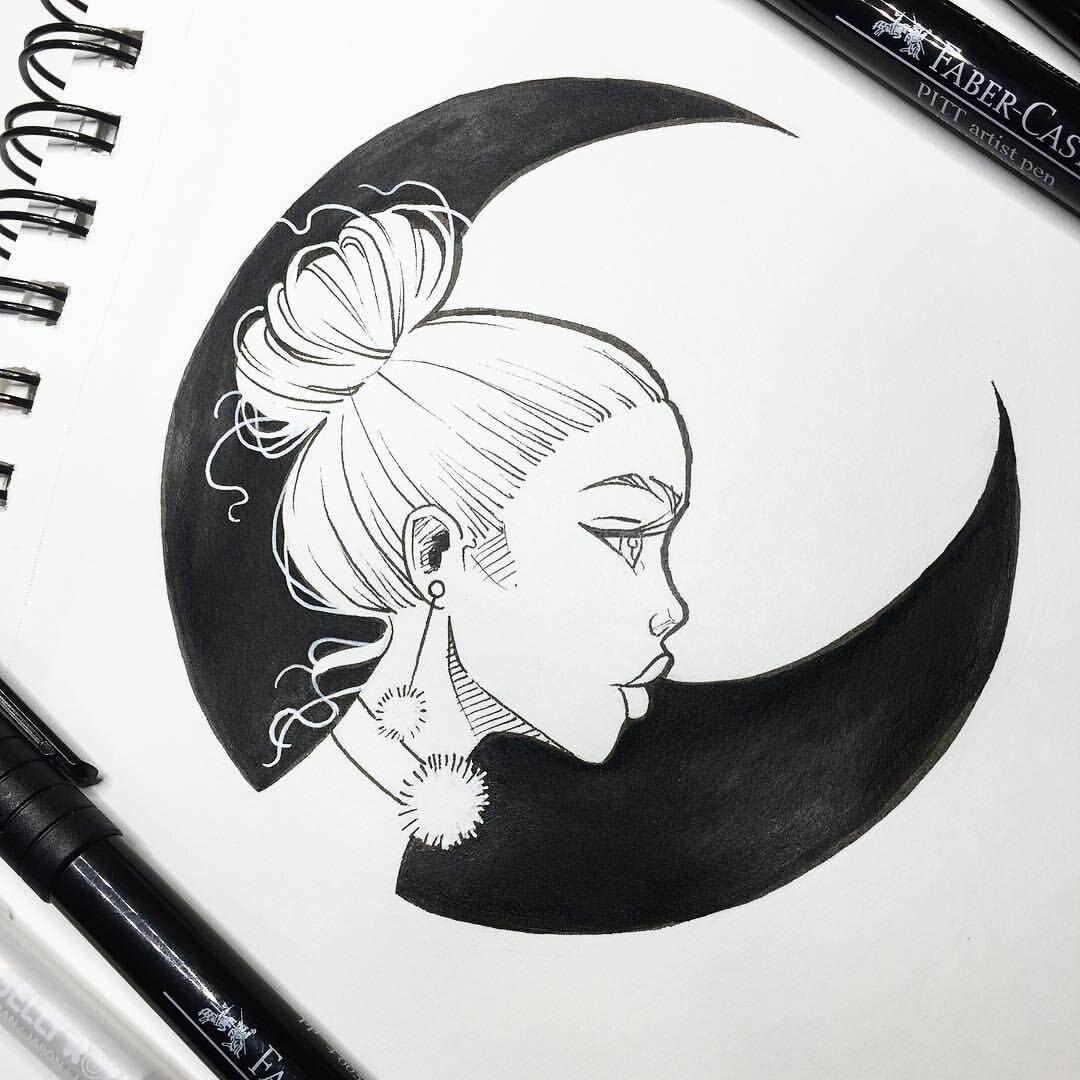 Днем, крутые картинки нарисованные черной ручкой