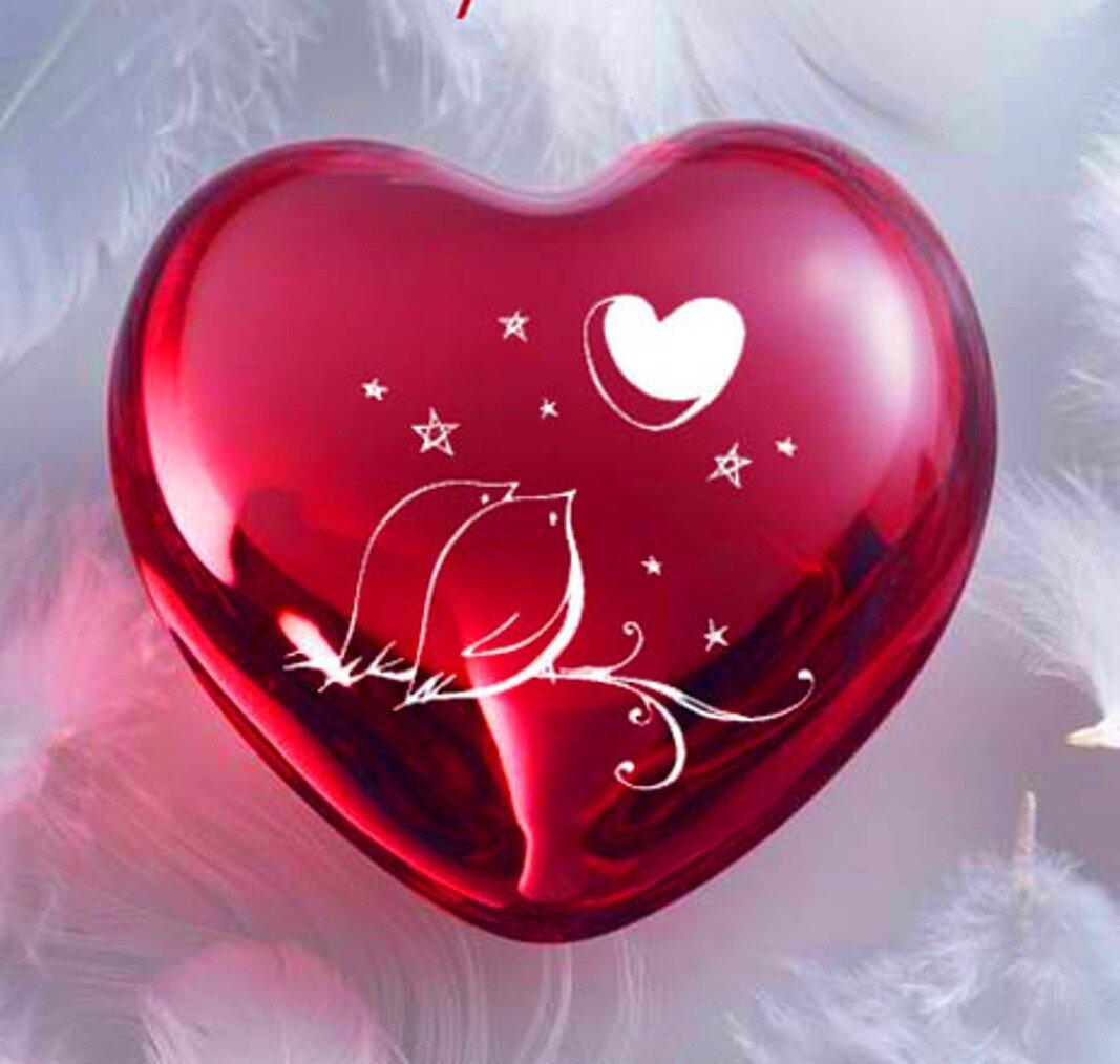 Открытки сердечко любимому