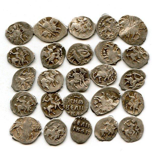 менее, история фото первых денег старинных монет зовут
