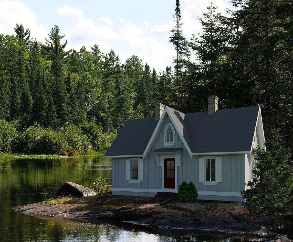 красивые маленькие домики картинки