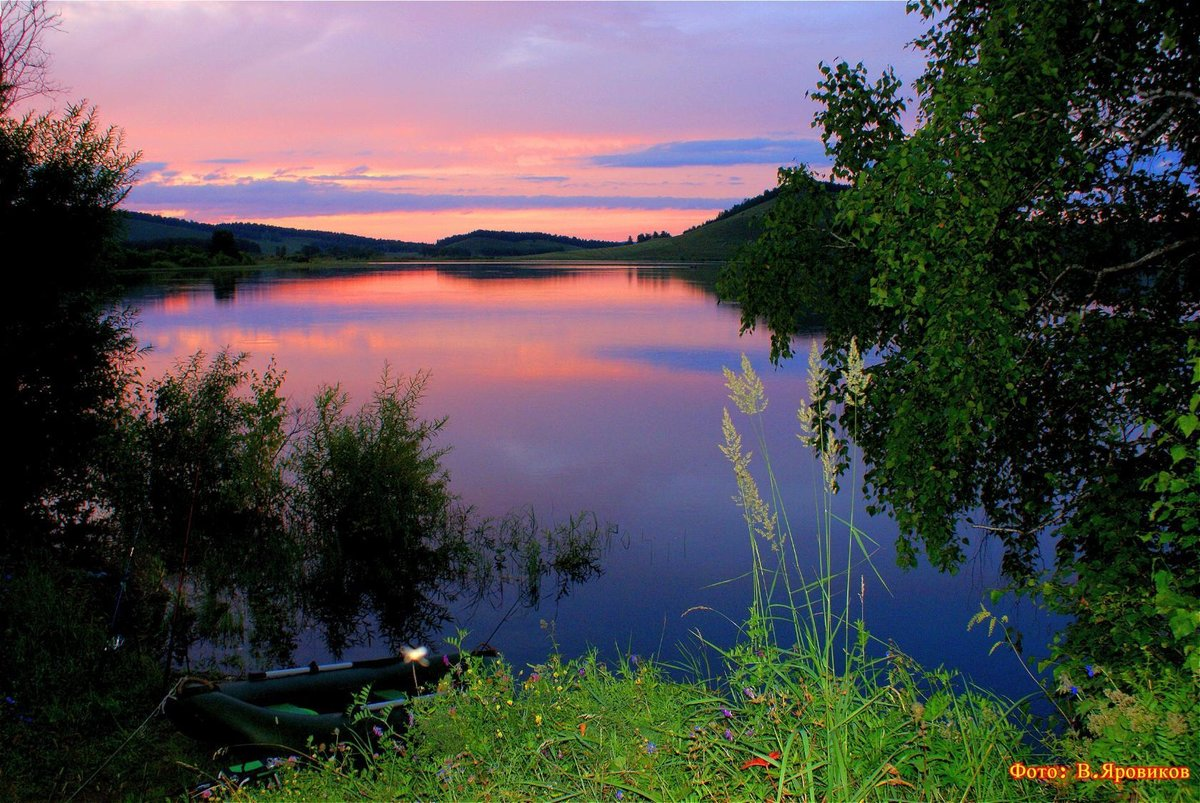 Рыболовные озера красноярского края