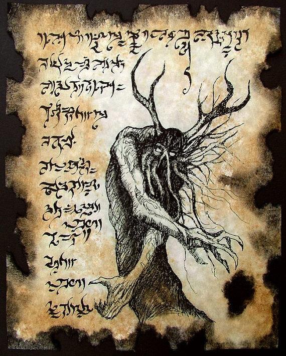 Картинки из демонологии