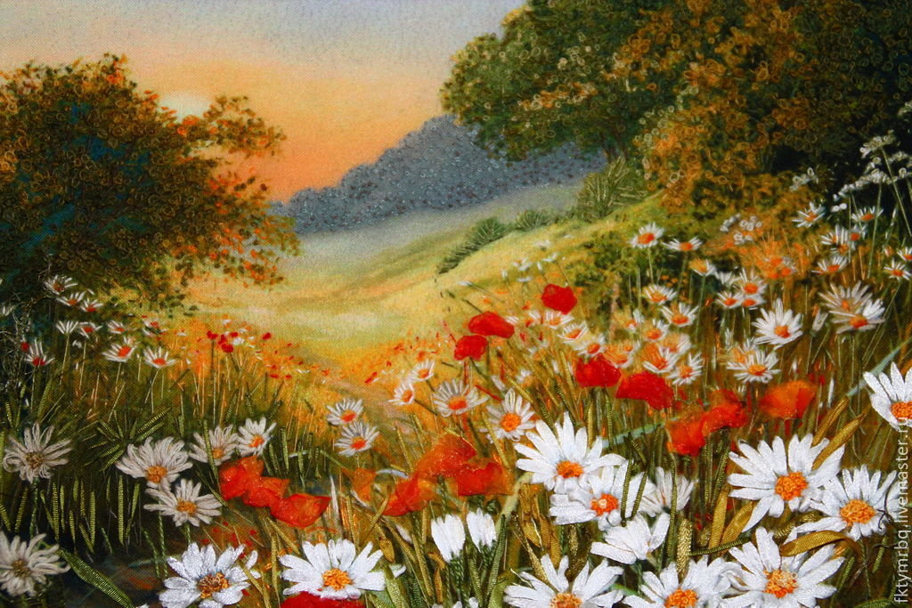 картинки живопись и лето счету