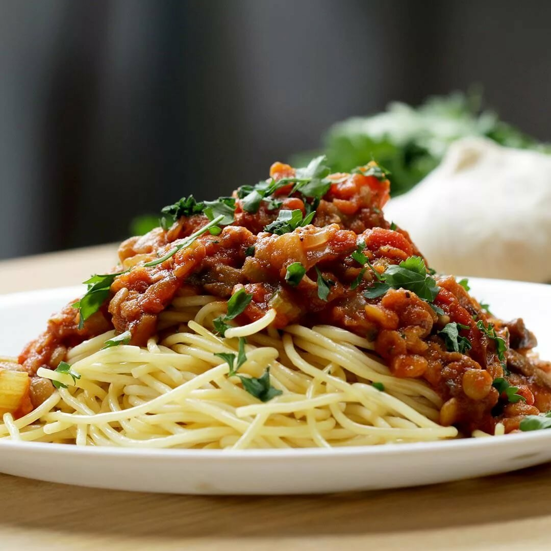 спагетти болоньезе рецепт картинки