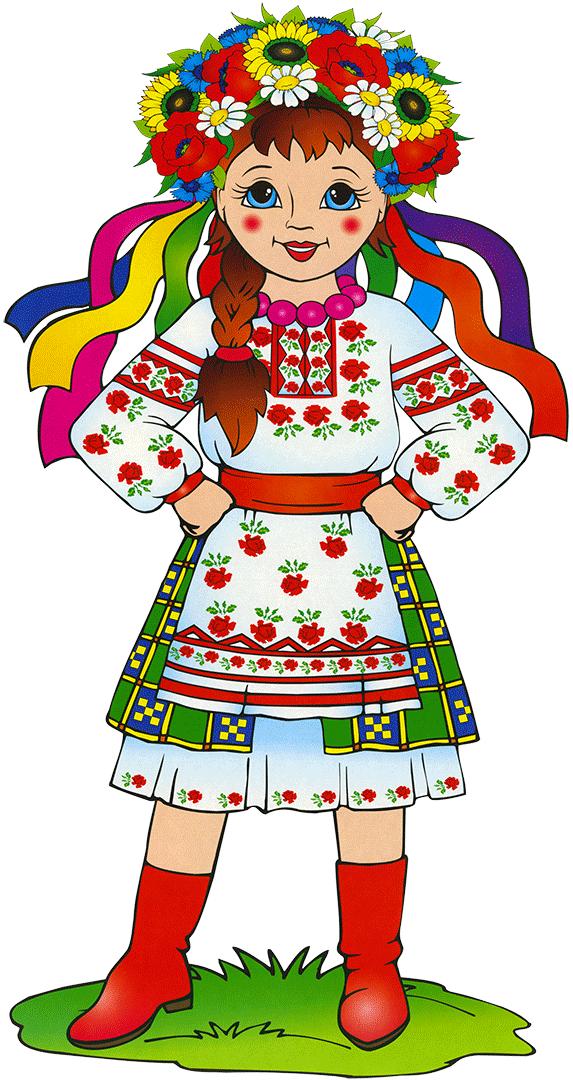 я украинка рисунок вдвойне