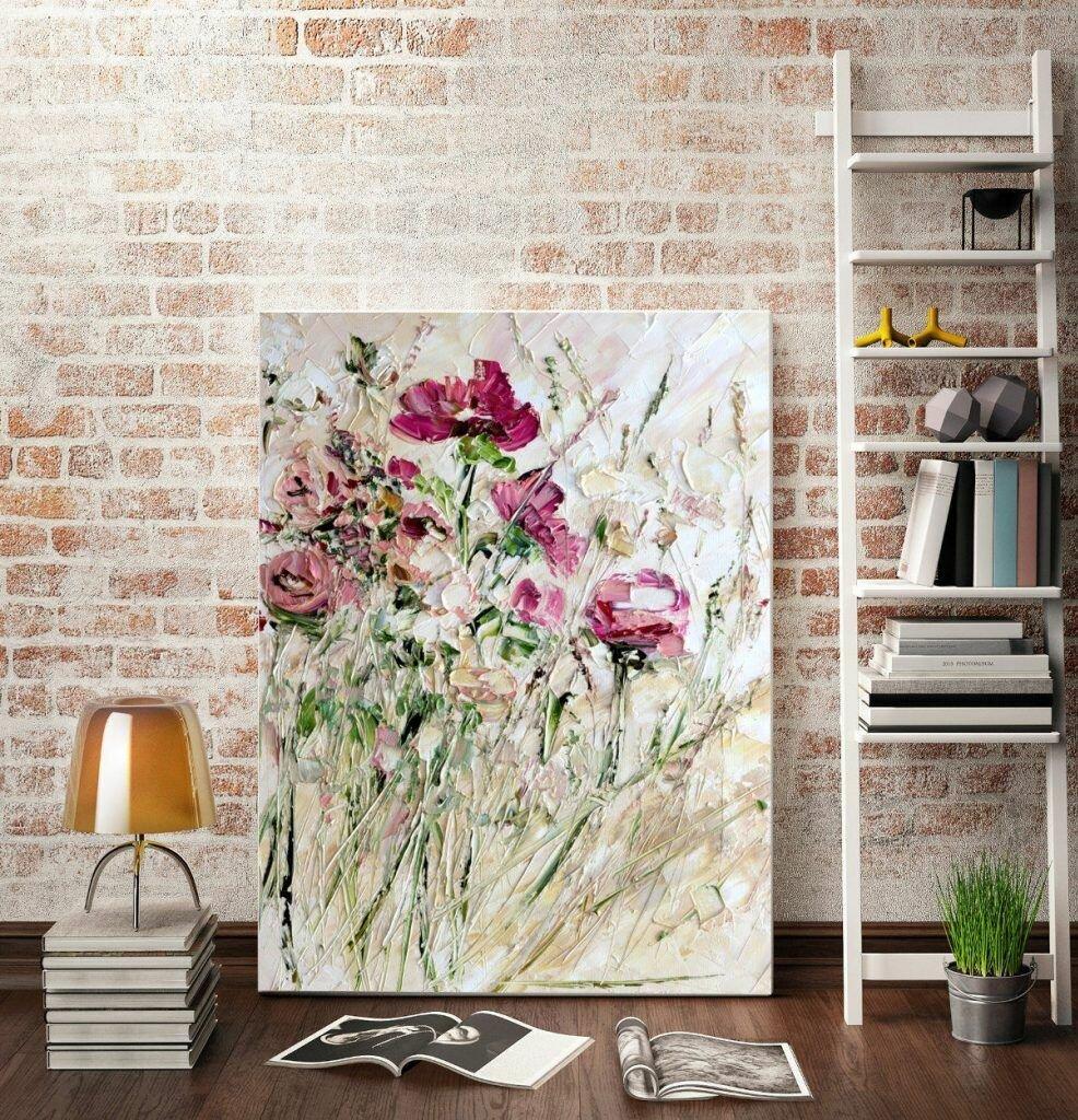 шостакович постер для интерьера цветы фото