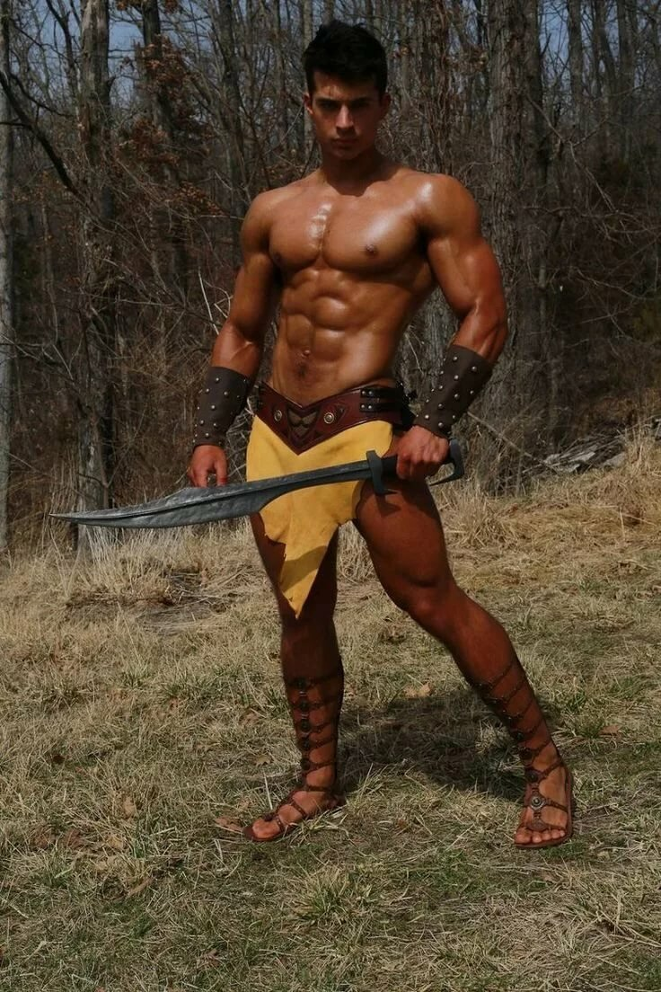 Cosplay naked male — pic 2