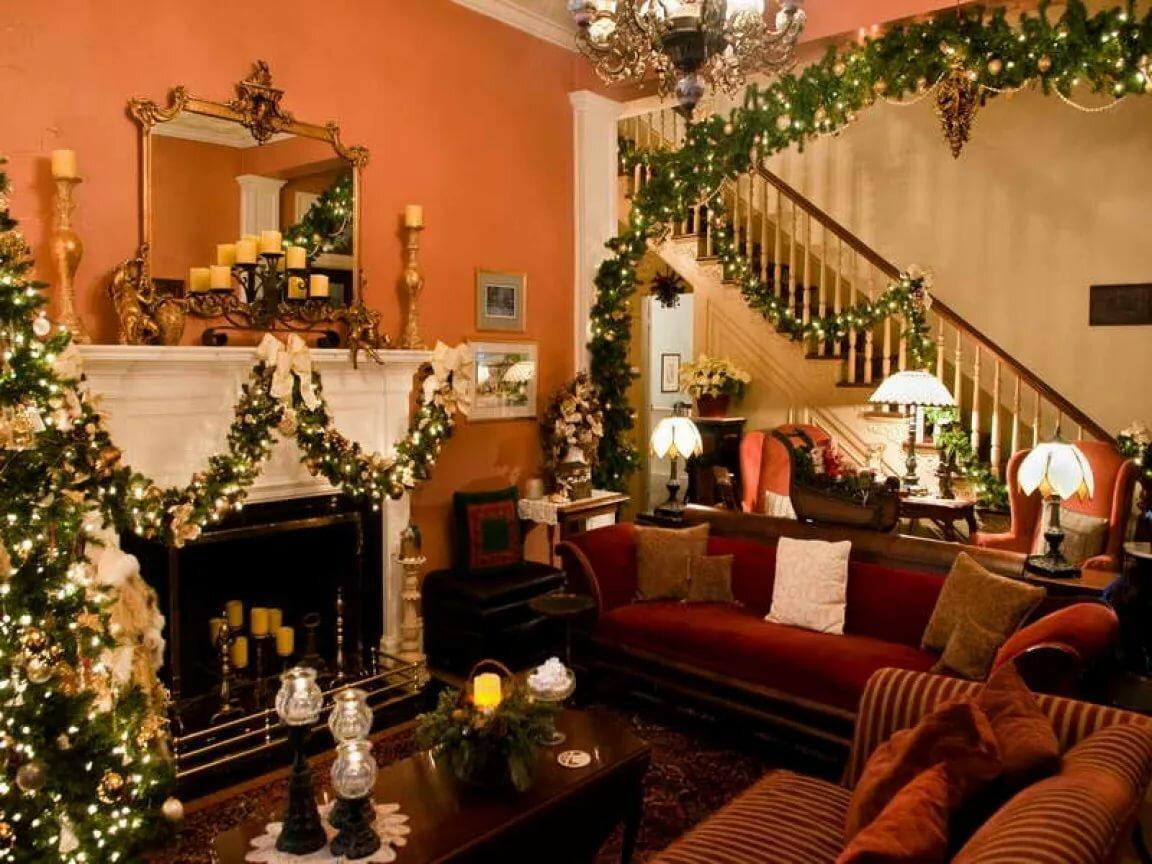 Картинки рождество в доме