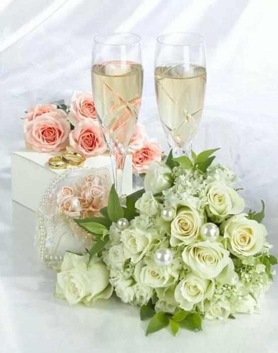 мерцающие картинки со свадьбой образом
