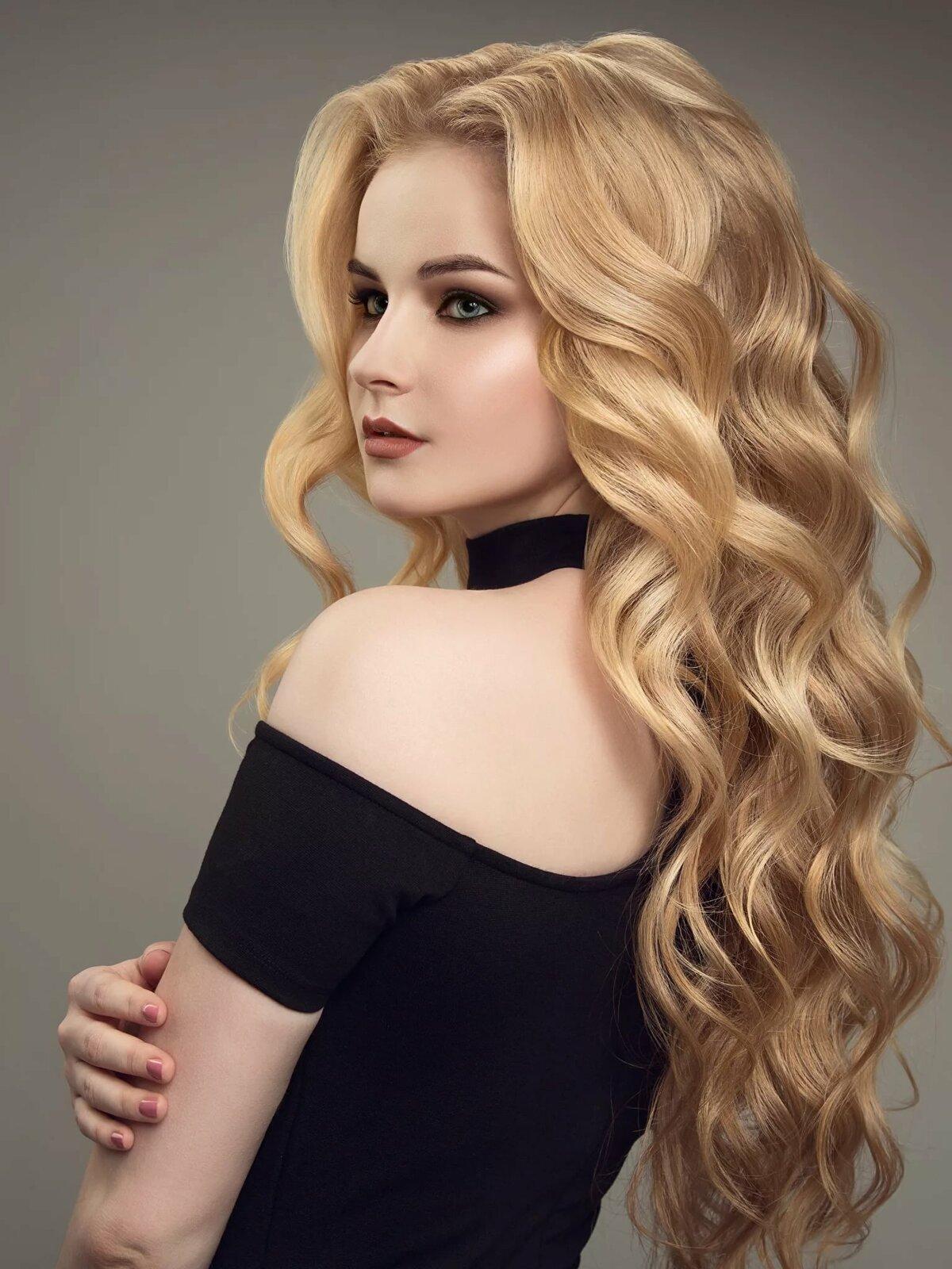 Картинки причесок блондинок