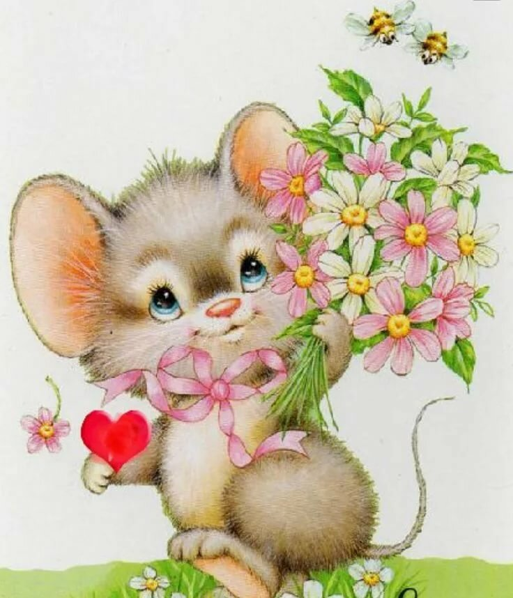 Игоря днем, картинки со зверятами с добрым утром это цветочек тебе от меня