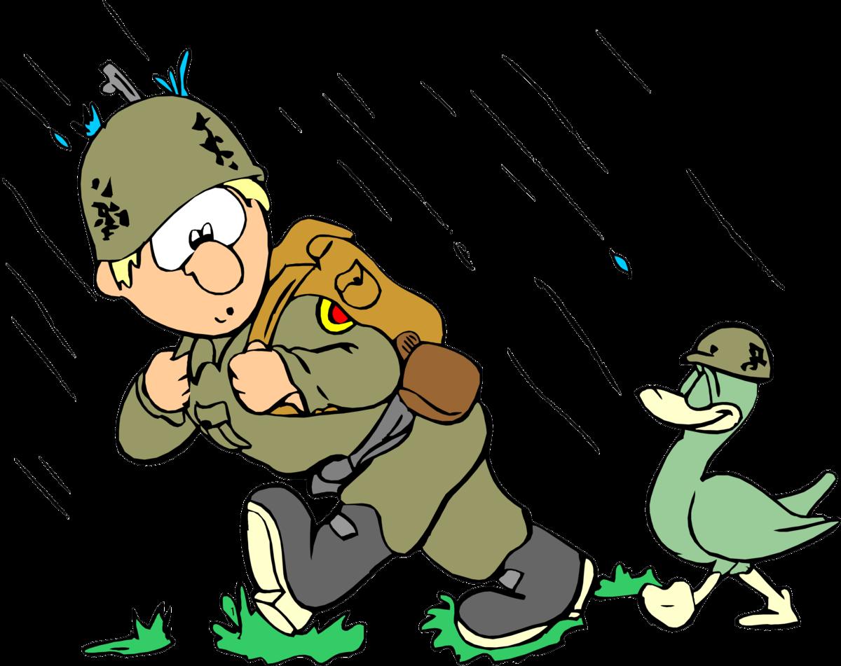Прикольный рисунок военного, поздравление