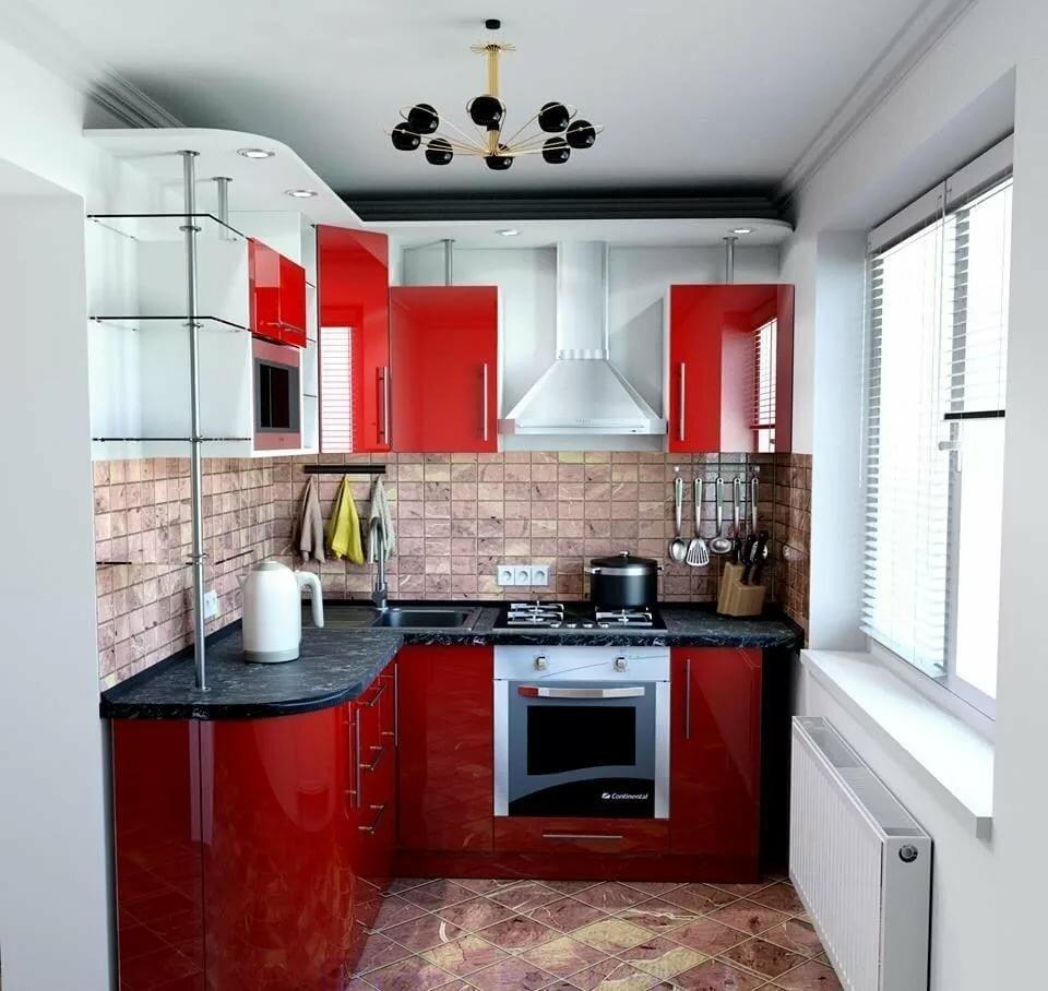 картинки с ремонтом маленьких кухонь любой