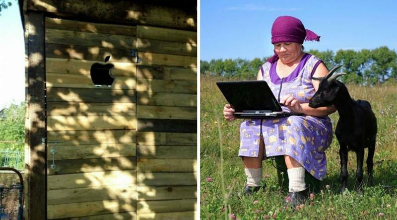 Бабушки, прикольные картинки про поездку в деревню