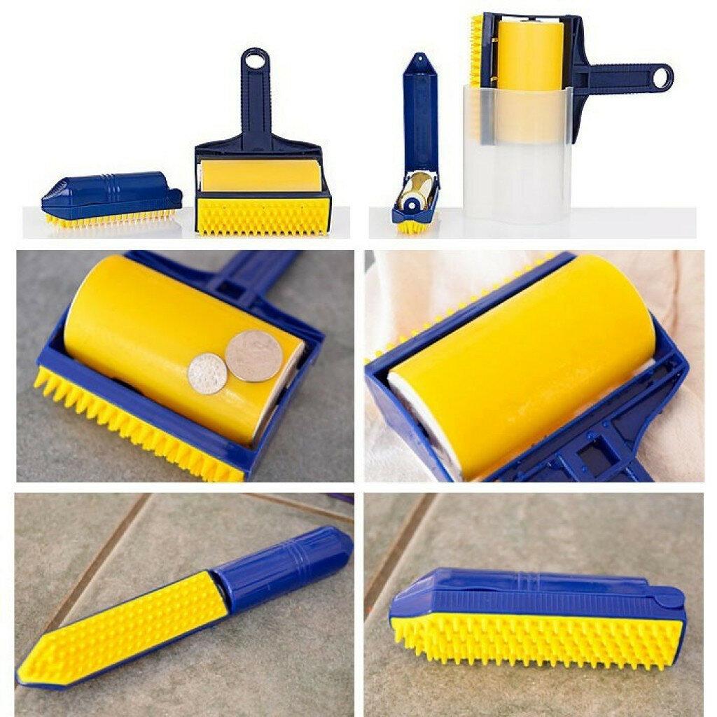 Sticky Buddy - Набор профессиональных силиконовых валиков для уборки в Кызылорде