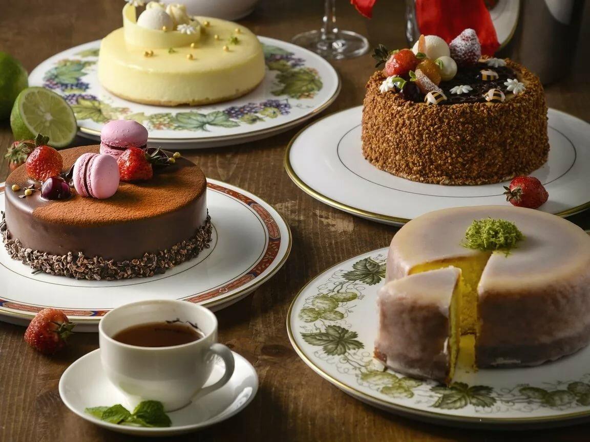 Приколы, картинки чай с тортиком на столе