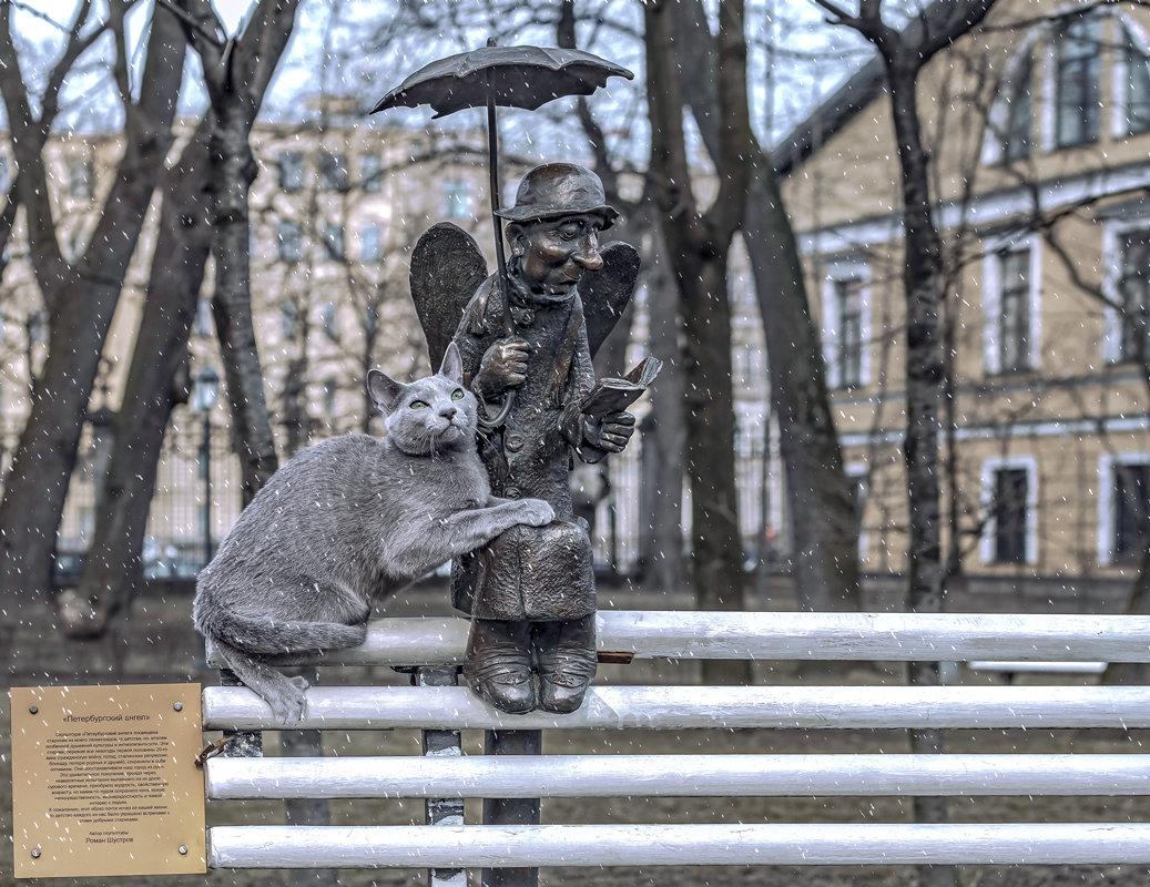 впереди фото петербургского ангела все