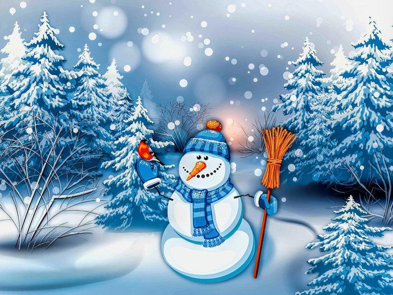 Можно, картинки зимы открытки