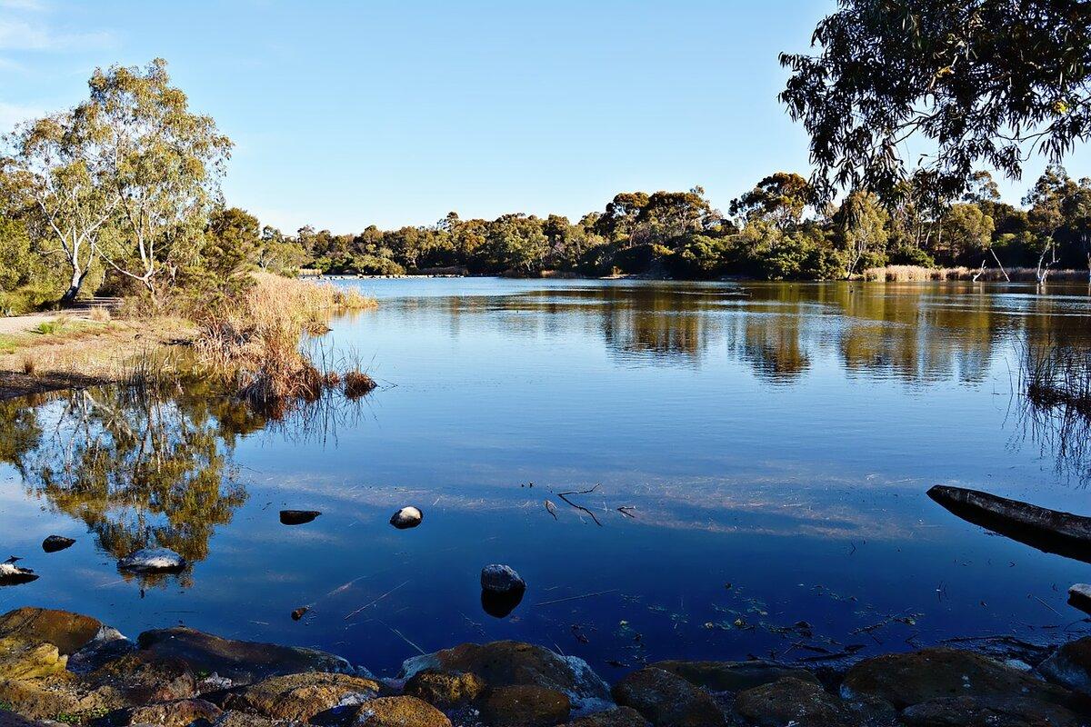 Озера австралии картинки